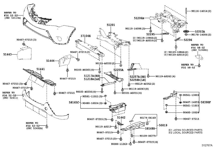 Toyota RAV4 Suspension Subframe Reinforcement Bracket