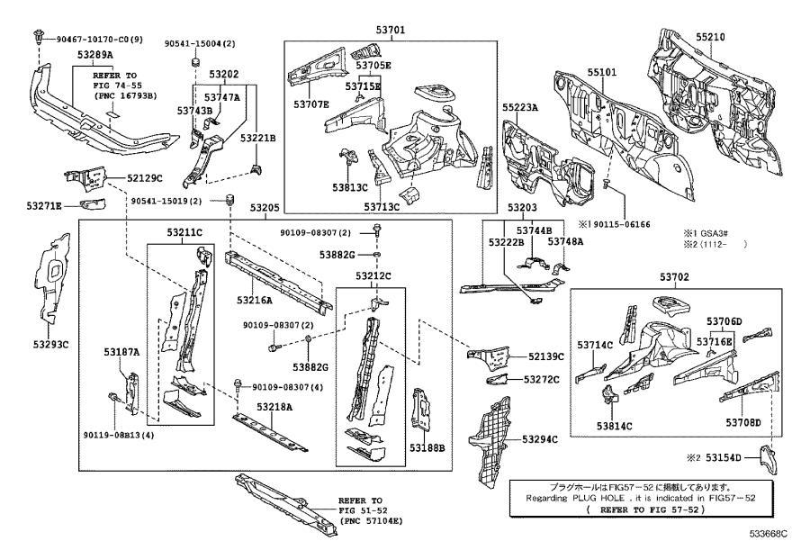 Toyota RAV4 Fender Extension Panel (Right, Front). Body