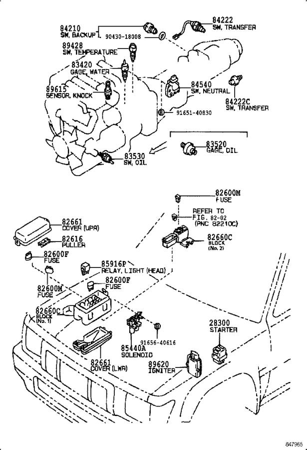 Toyota 4Runner Ignition Control Module. Igniter