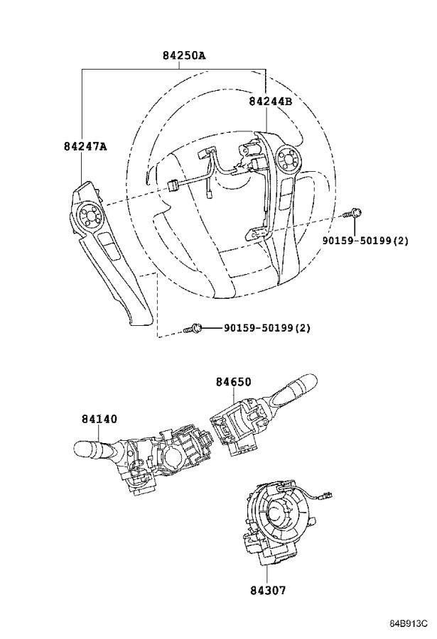 Toyota Prius Power Steering Control Module. Computer