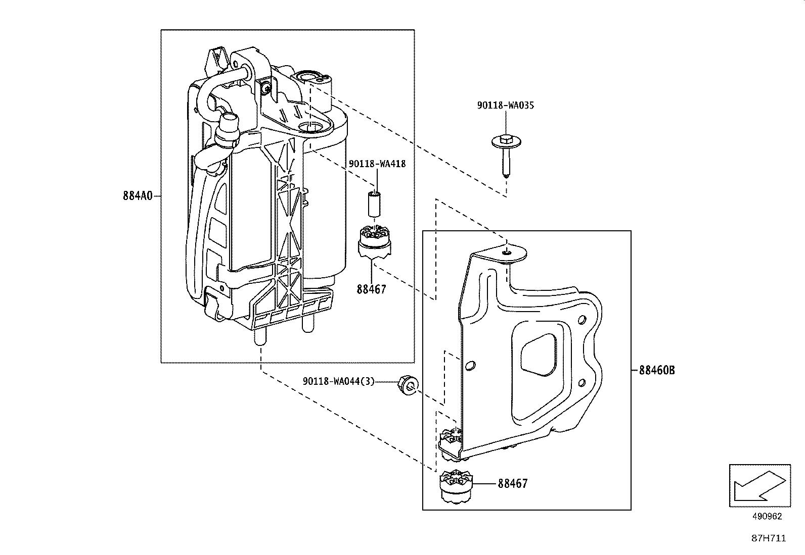Toyota Supra A C Service Valve Core