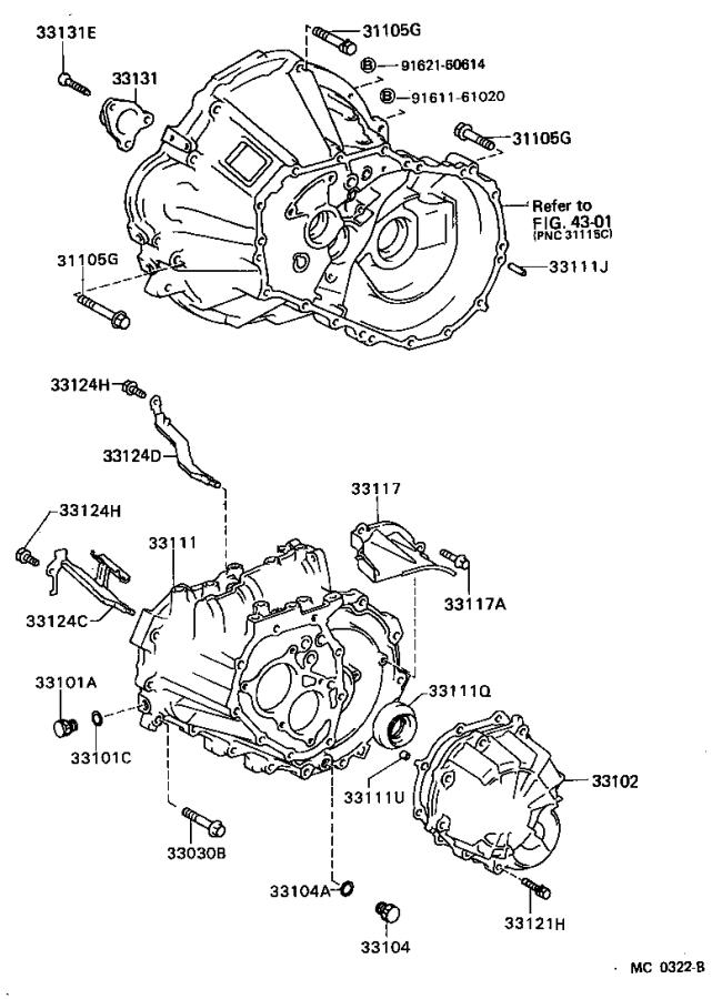 Toyota Corolla Plug, breather(for manual transmission