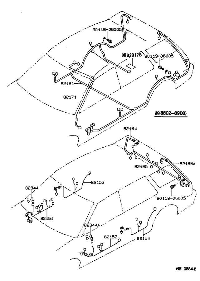 Toyota Corolla Wire, horn repair. Engine, cvt, twt
