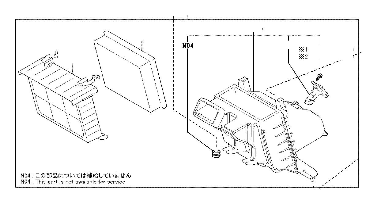 Toyota Sienna Mass Air Flow Sensor. Meter, Intake Air Flow