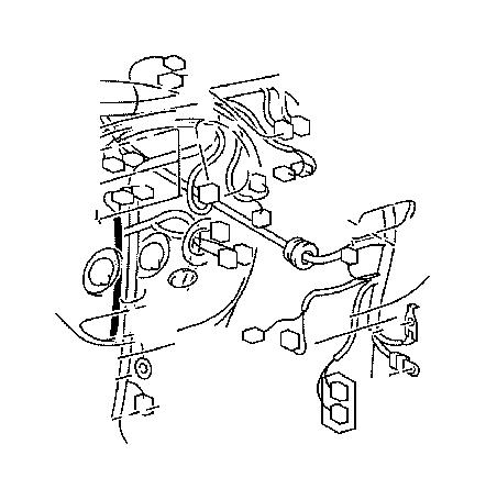 Toyota Tundra Wire, instrument panel, no. 2. Engine, roof