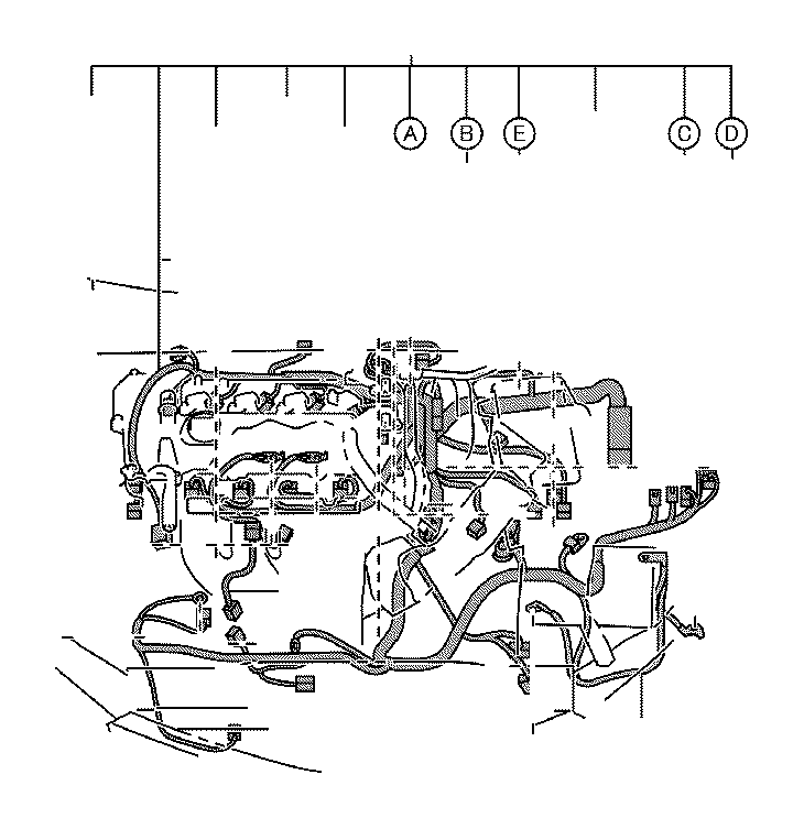 Toyota Corolla Battery Cable. Wire, Engine, NO.3