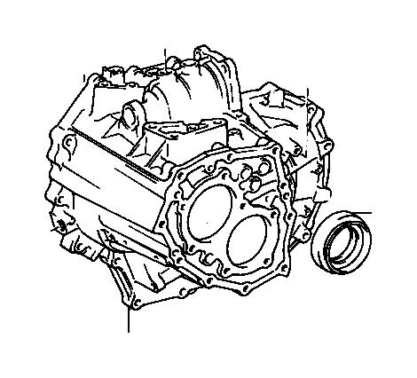 Toyota RAV4 Manual Transmission Output Shaft Seal (Left