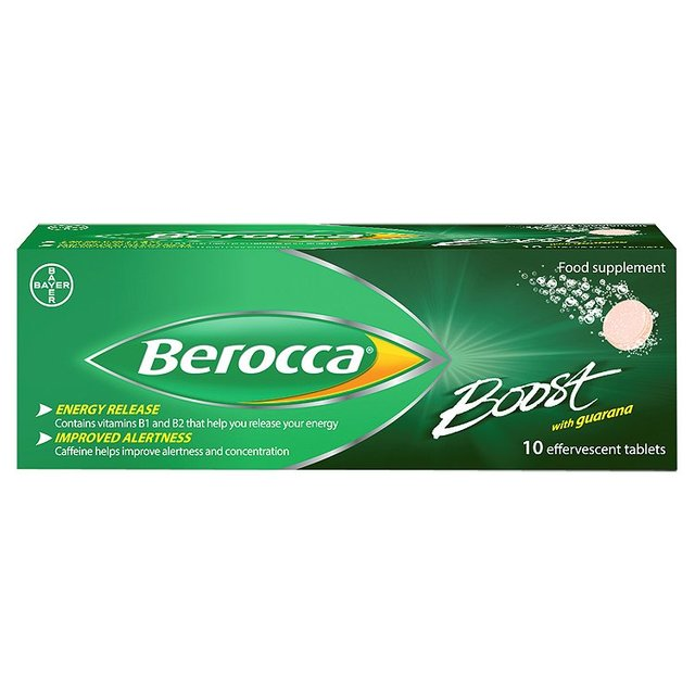 Berocca Boost Effervescent Tablets 10 | Online Pharmacy UK