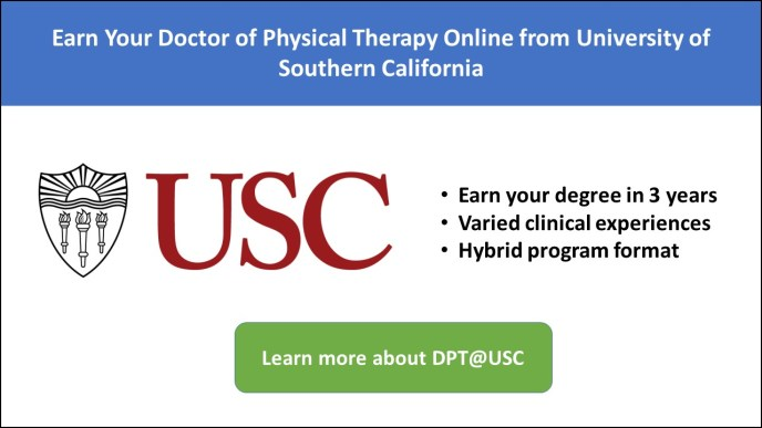 Explore 2020 Online Doctorate In Physical Therapy Programs