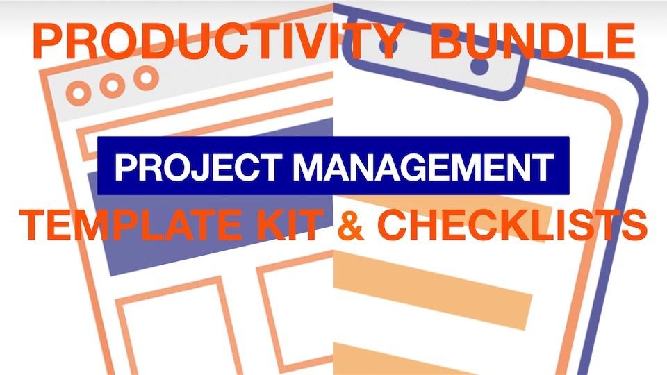 Project Management Productivity Bundle