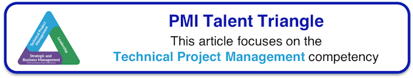 PMI Talent Triangle - Technical Project Management