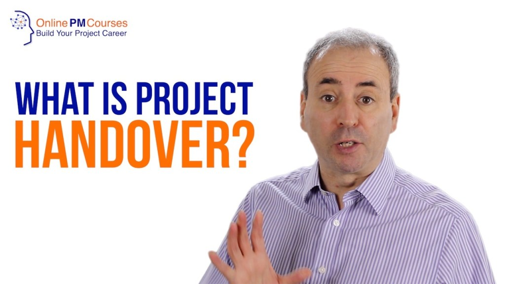 What is Project Handover?