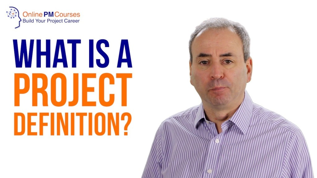 What is a Project Definition?