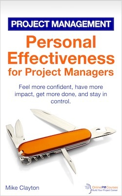 Personal Effectiveness for Project Managers