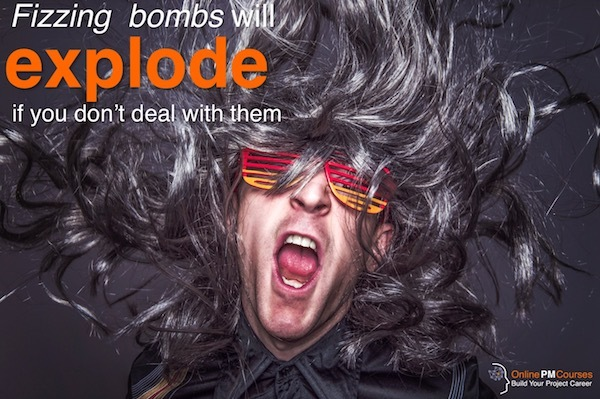 Fizzing Bombs will Explode if Your Don't Deal with Them