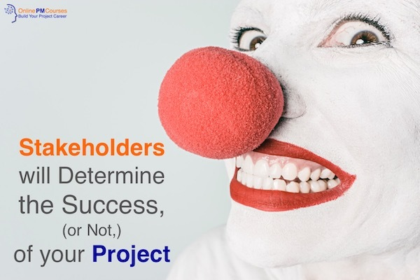 Stakeholders will Determine Your Success or Not