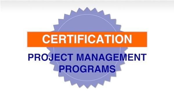 Certification Project Management Programs