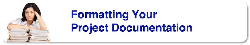 Formatting your Project Documentation