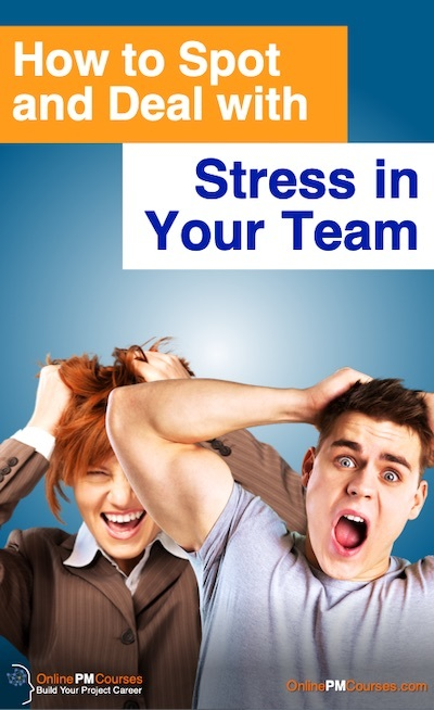 How to Spot and deal with Stress in Your Team