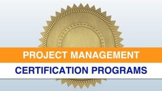 Project Management Certification Programs