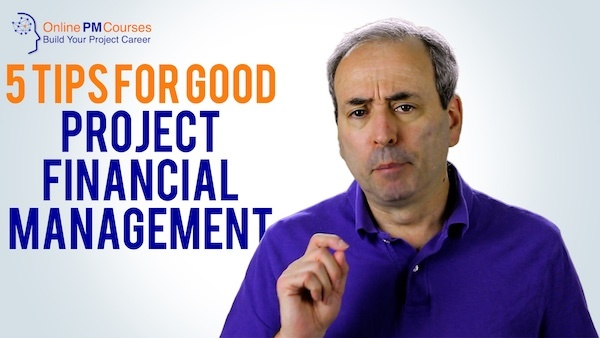 Project Financial Management - 5 Tips for Good Cost Control | Video
