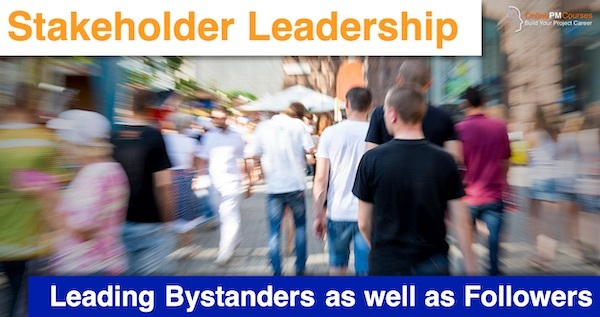 Stakeholder Leadership: Leading Bystanders as well as Followers