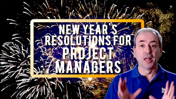 New Years Resolutions for Project Managers