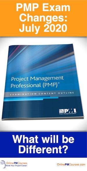 PMP Exam Changes - July 2020