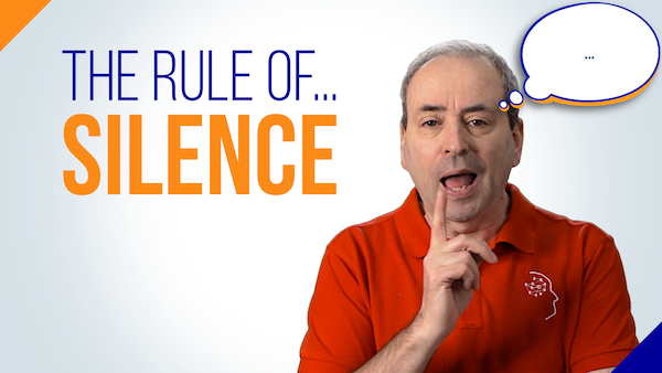 The Rule of Silence: The Free Source of Power in a Meeting | Video