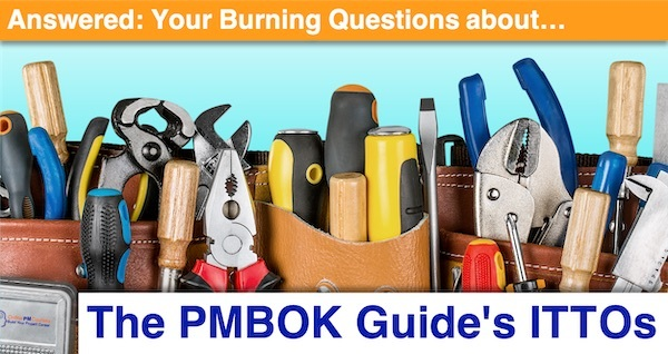 Answered: Your Burning Questions about the PMBOK Guide's ITTOs