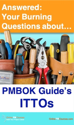 The PMBOK Guide - ITTOs