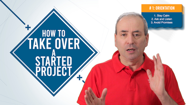 Project Takeover Formula: How to Take Over a Started Project | Video