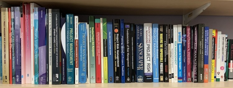 Mike's 2020 Project Management Bookshelf - best project management books