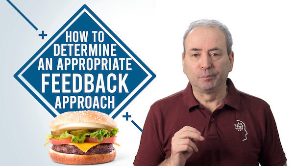 How to Determine an Appropriate Feedback Approach | Video
