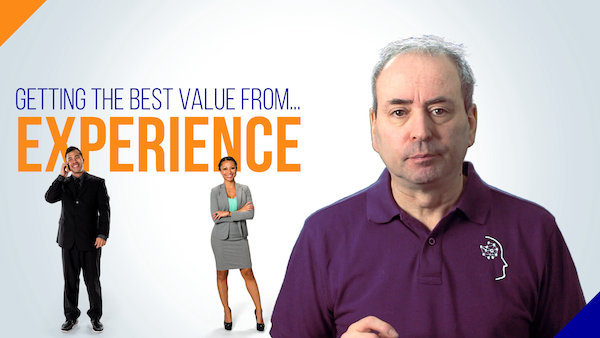 Getting the Best Value from Experience (and the Myth of 10,000 hours)