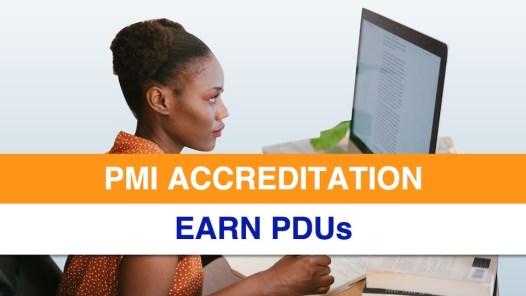 PMI Accreditation - Earn PDUs