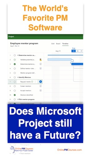 Does Microsoft Project Still have a Future? The World's Favorite PM Software