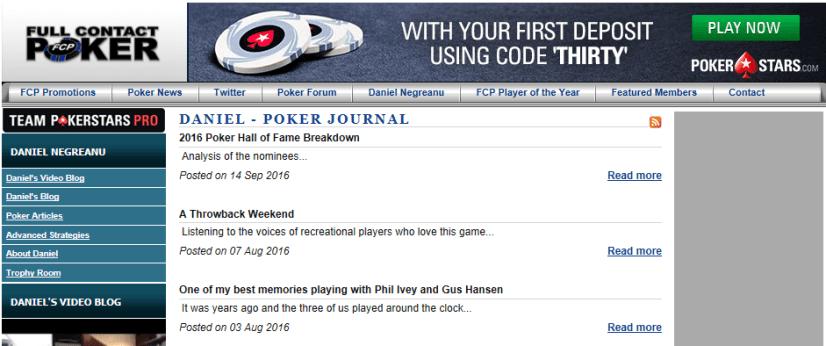 The best poker websites