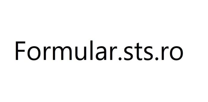 Formular.sts .ro