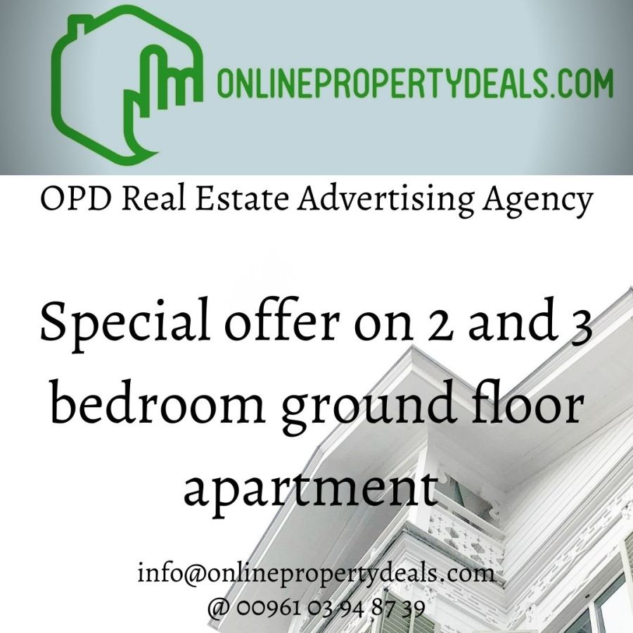Ground Floors Special Offer