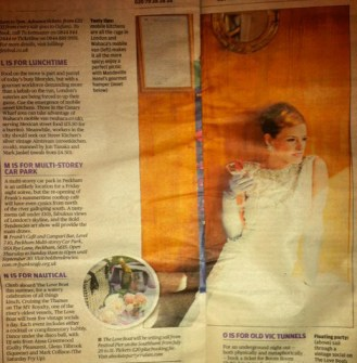 National PR: Evening Standard: Absolute Party Cruises