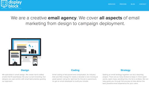 displayblock website