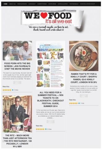 Digital PR: We Love Food It's All We Eat