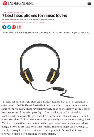 7 best headphones for music lovers | Gadgets & Tech | Extras | T
