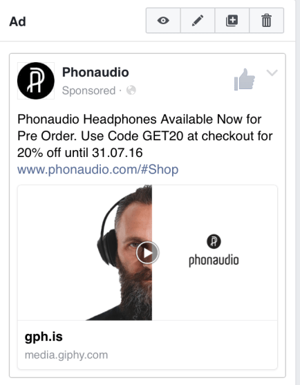 Launch Ad (Facebook)