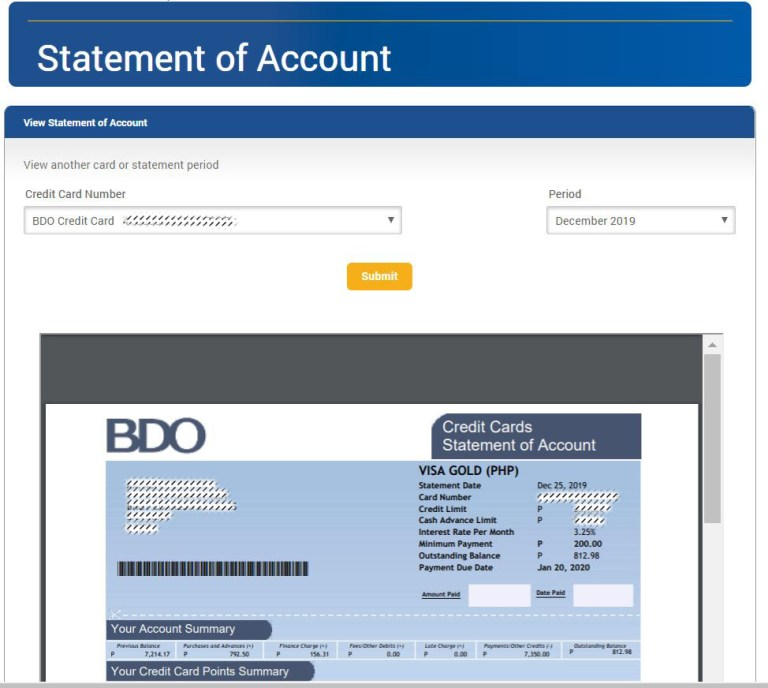 bdo personal online banking and select enrollment services