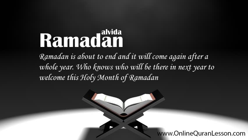 Ramadan Alvida