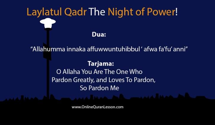 Laylatul Qadr The Night of Power!