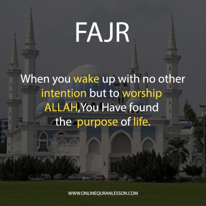 Importance of Fajr