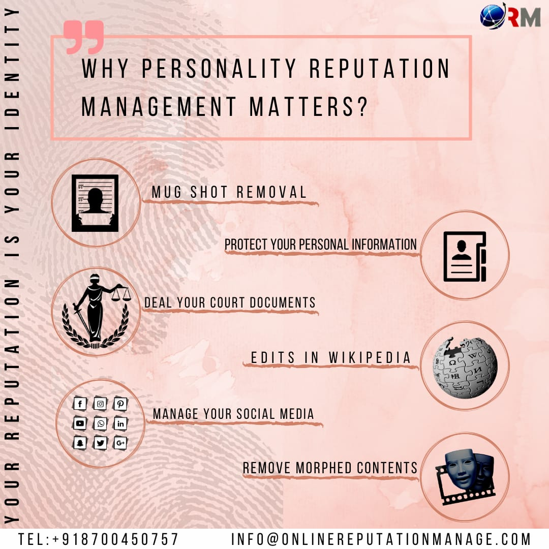 Personality reputation management service